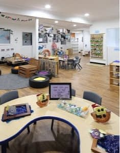 ready 2 learn indoor activity, learning room