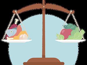 proper balance , healthy foods